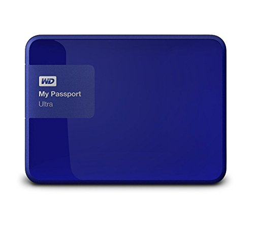 wd 2tb blue my passport ultra portable external hard drive import it all. Black Bedroom Furniture Sets. Home Design Ideas