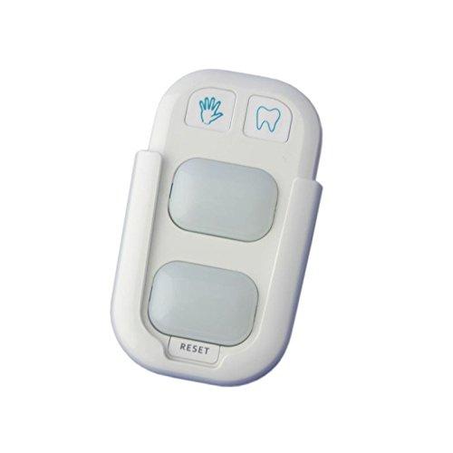 XL Orologio LED Spazzolino da denti per bambini lavaggio a mano Spazzolini da denti Timer Orologio lavaggio /& portaspazzolini guidata