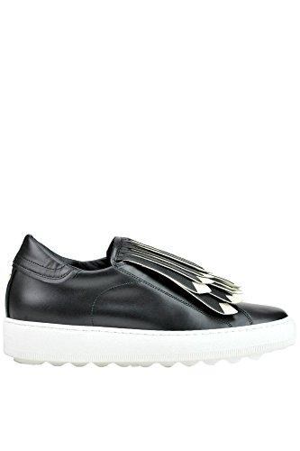 Philippe Model Zapatillas de Otra Piel Para Mujer Negro Negro