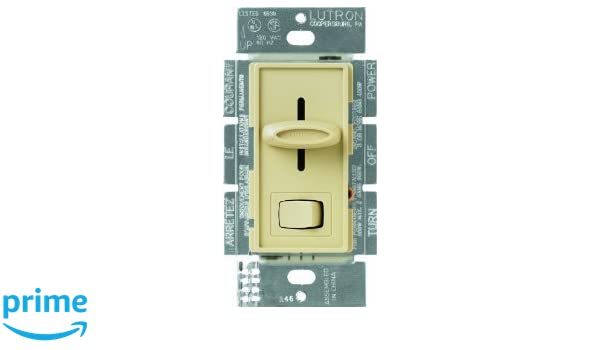 Lutron s600ph iv ivory skylark dimmer with preset switch lutron s600ph iv ivory skylark dimmer with preset switch amazon sciox Choice Image