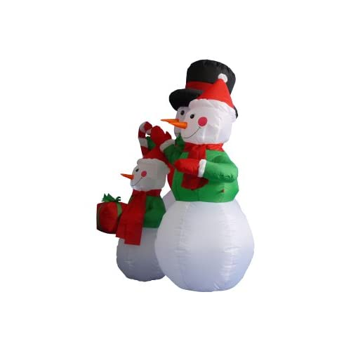 4 Foot Christmas Inflatable Snowmen Family Party Decoration
