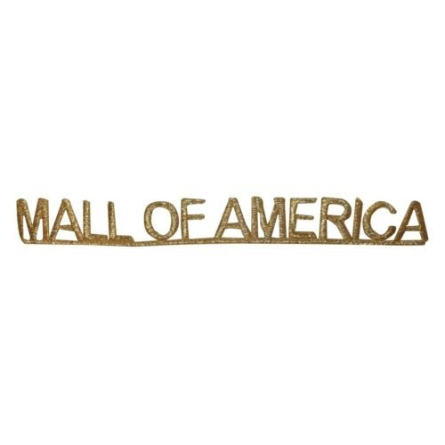 Logo patch embroidered)ID 1912 Mall Of America Name Patch Travel Souvenir Embroidered Iron On Applique + E-book with - Of Store Mall Souvenir America