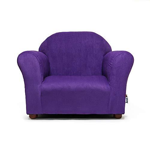 Keet Roundy Childrens Chair Microsuede, Purple