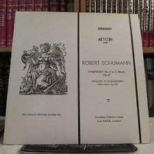 Robert Schumann: Symphony No. 2 in C Major, Op. 61 ~ Overture to Shakespeare's 'Julius Caesar', Op. 128 ~~ Gewandhaus Orchestra, Leipzig - Kurt Mazur, Cond. ~ Musical Heritage Society MHS 3394