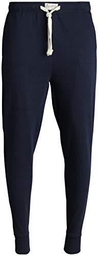 Lucky Brand Mens' Active French Terry Jogger Pants, Navy, Size -