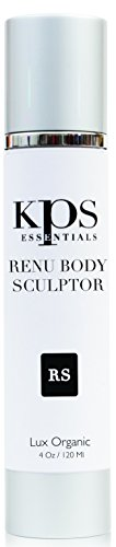(Renu Cellulite Body Sculptor 4oz by KPS Essentials | Promotes Firmer, Tighter Skin | Targets Fat Cells | Natural Fat Remover That Slenders Silhouette & Promotes Drainage | Maca Root & Hyaluronic Acid)