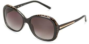 Givenchy Sunglasses SGV767-09X5 Rectangular Sunglasses,Black Leopard,57 mm