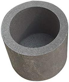 Dumadf Graphittiegel Tasse Siliziumkarbid Propanbrenner Labor Schmelzen Gießen Raffinieren Kupfer Aluminium-60x60mm-160ml