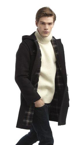 Original Montgomery Mens Duffle Coat (Size 38, Charcoal)