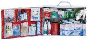 Food Service Kit Burn (2 Shelf Food Service First Aid Cabinet Kit)