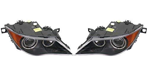 Set Left & Right Genuine Bi-Xenon Adaptive AKL Headlights Lamps For BMW E63 E64