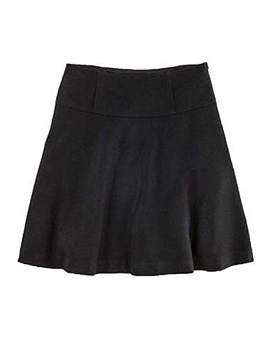 Boden Black Olivia A Line Wool Skirt Size US 4 (Wool Boden Skirt)
