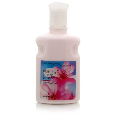 (Bath & Body Works Blushing Cherry Blossom Pleasures Collection Body Lotion 8 fl oz )