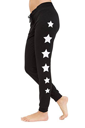 90 Degree By Reflex Yoga Lounge Pants – Loungewear and Activewear – Black – Medium Review