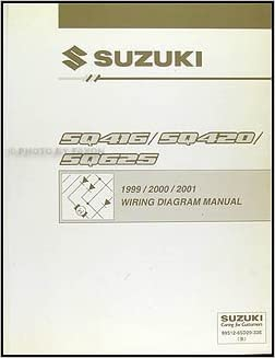 1999-2001 suzuki swift wiring diagram manual original: suzuki: amazon com:  books