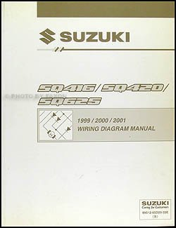 1999 2001 suzuki swift wiring diagram manual original suzuki rh amazon com 2001 suzuki rm250 wiring diagram 2001 suzuki vitara wiring diagram