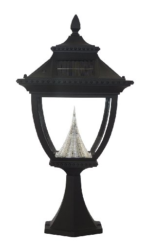 Gama Sonic Pagoda Solar Lamp in US - 6