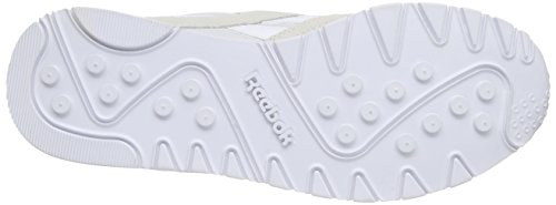 Reebok Unisex-Erwachsene Classic Nylon Low-Top Weiß (white/light Grey)