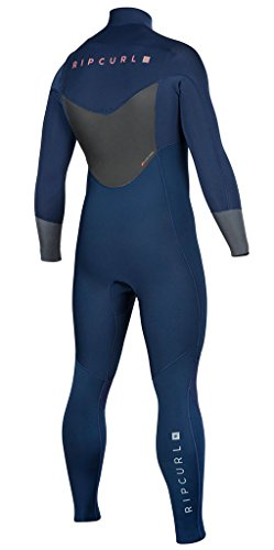 Rip Curl Dawn Patrol Chest Zip 4/3 Wetsuit, Black, Small by Rip Curl (Image #1)