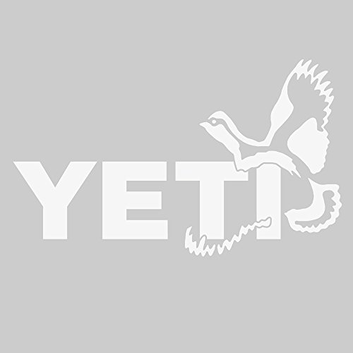 - YETI Sportsman's Decal Quail White