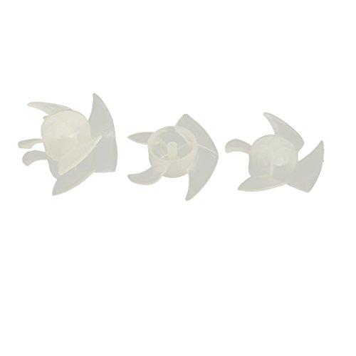 uxcell 60mm x 22mm Plastic Motor Fan Blades Hair Dryer Accessories (Blade Dryer)