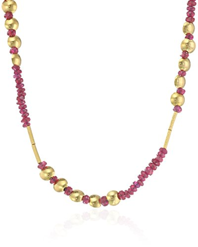 GURHAN-Delicate-Rain-24k-Bead-and-Lentil-Strand-Necklace