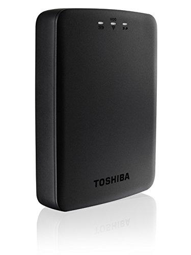 Toshiba Canvio AeroCast wireless Festplatte 1 TB 6,4 cm (2,5 Zoll) USB 3.0 schwarz