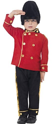 Boys Busby Buzby Guard Royal British London Soldier Military Uniform Age 4-6 ()