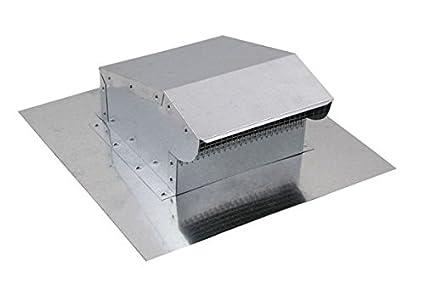 Bath and Kitchen Exhaust Vent - Galvanized 4 inch - - Amazon.com