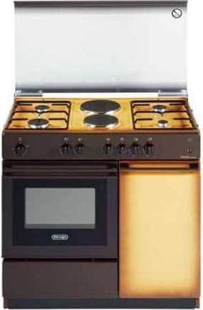 Cocina de gas con horno eléctrico, 4 fuegos + 2 placas, 86 x 50 ...