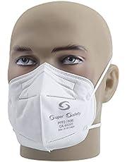 Respirador Pff2 Branco Mascara N95 Inmetro Com 50 Unidades