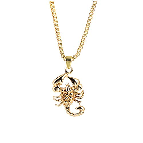 - Jewelry Fashion Personality Necklace Scorpion Necklace Pendant Hip Hop