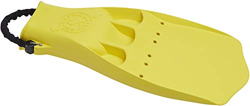 ScubaPro Jet Fins with Spring Heel Strap (Large, Yellow)