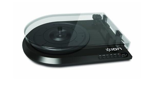 ION Audio Quick Play Flash - Tocadiscos (Negro): Amazon.es ...