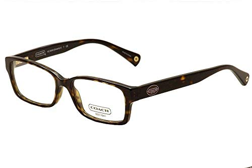 Designer Prescription Eyeglasses - Eyeglasses Coach 0HC6040 5116 DARK TORTOISE/TEAL