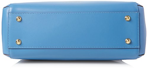 Twin Set Os8tgn, Borsa a Mano Donna, 14x25x32 cm (W x H x L) Blu (Blue Stone)