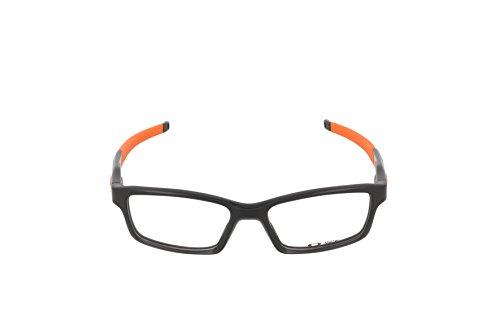 8f5e37a68d Oakley Crosslink OX8027-1153 Polished Black Orange Clear Demo ...