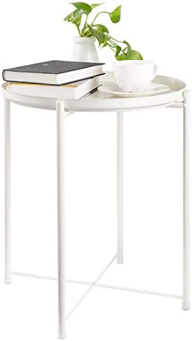 CERBIOR Tray End Table - a good cheap rustic end table