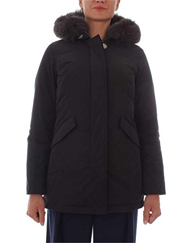 Woolrich Donna Cappotto Poliammide Nero Wwcps2635black rUrn87q