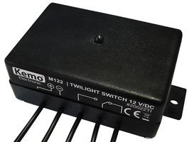 TWILIGHT SWITCH MODULE 12VDC M122 By KEMO ELECTRONIC