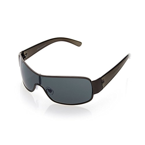 NYS Collection Hester Street Metal Sunglasses, Gunmetal Frame/Smoke - Nys Collection Sunglasses