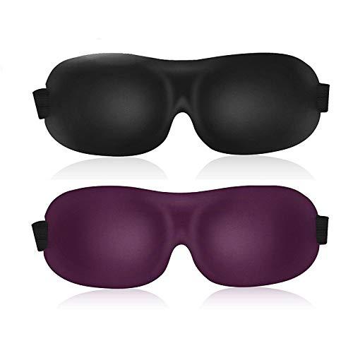 3D Sleep Mask  Eye Mask for Sleeping - Contoured Eyemask - B