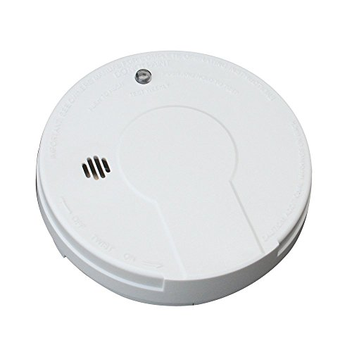 Kidde i9050 Battery Operated Smoke Alarm, White (5 SMOKE ALARMS)