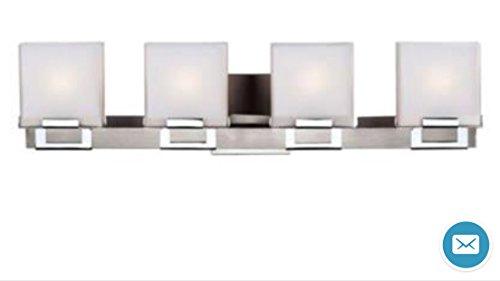 Forecast Lighting - F4422-36NV - Square - Four Light Bath Bar -
