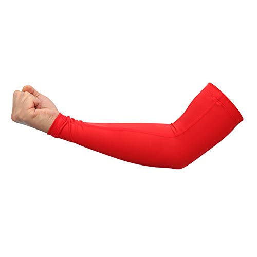 XNWH Men's 1 PairBasketball Lengthen Arm Sleeves Guard Sports Safety Protection Elbow Pads Arm Warmers Indoor Basketball