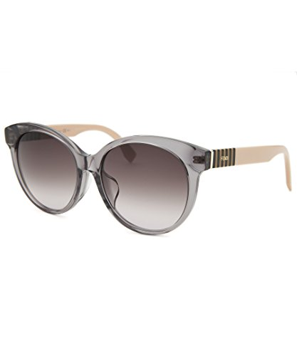 Fendi - PEQUIN ASIAN FIT FF 0013/F/S, Cat Eye, acetate, women, GREY OCHRE POWDER/BROWN PLUM SHADED(7TE/K8 A), - Sunglasses Asian Fit Womens