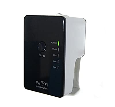 GOUXIANG 300 Mbps Wireless-N MINI Wifi Router/Repeater LAN AP Range Extender WPS WLAN Access Poin Signal Boosters Signal Amplifier