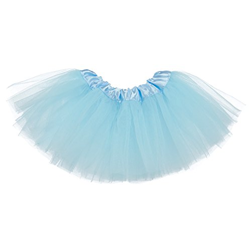 My Lello Baby 5-Layer Ballerina Tulle Tutu Light Blue (0-3 mo.) -