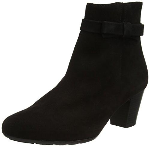 Gabor Damer Trøste Grundlæggende Støvler, Sort Sort (sort (mikro))