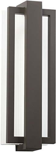 Kichler 49434AZ Sedo Outdoor Wall 1-Light LED, Architectural Bronze